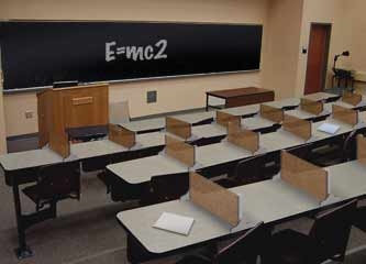 Classrooms. ImageScreens Introduces A New New Table Divider ...